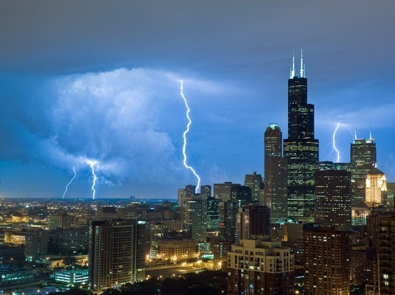 USA - CHICAGO T STORM