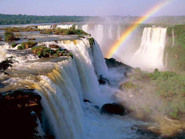 ARGENTINA - IGUAZU FALLS - RAINBOW