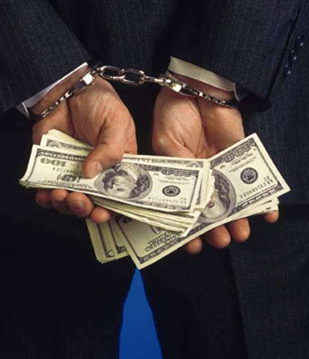 WHITE COLLAR CRIME - WITH MONEY