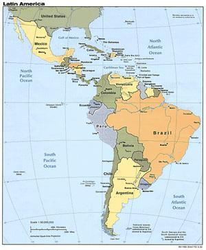 Latinamericapoliticalmap